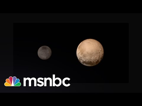 NASA Releases Close-Up Images Of Pluto | msnbc
