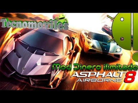 Asphalt 8 Airborne para Android + Mod Dinero ilimitado (Online/No Root) (Descargar y Jugar)