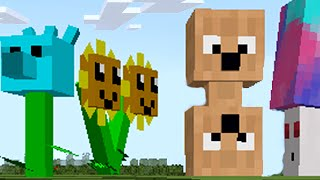 Plants vs. Zombies 2  - Minecraft Mod!