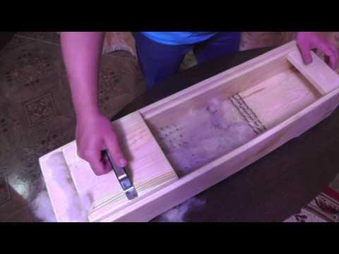 Как сделать кардер для чески шерсти своими руками 66