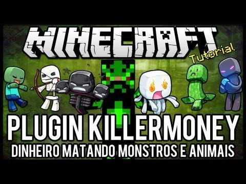 [Tutorial]KillerMoney - Dinheiro Matando Monstros e Animais Minecraft
