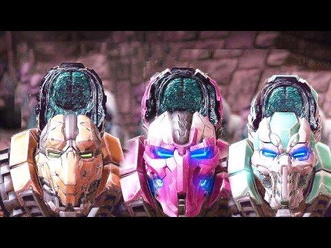 Mortal Kombat X ALL Fatalities On Triborg Fatality Gameplay