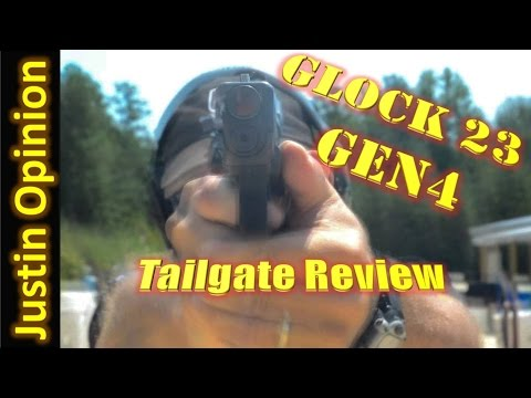 Glock 23 Gen4 Tailgate Review