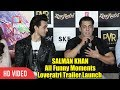 Salman Khan All Funny Moments | Full Video | Loveratri Official Trailer Launch