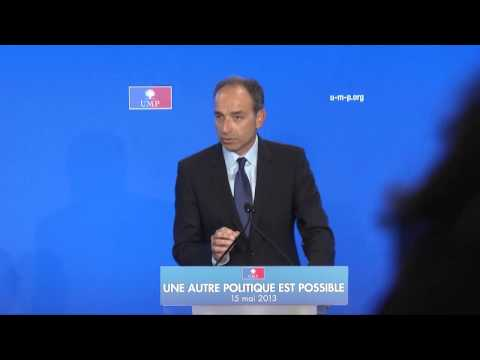 Le bilan aprs 1 an de prsidence Hollande : Discours de Jean-Franois Cop