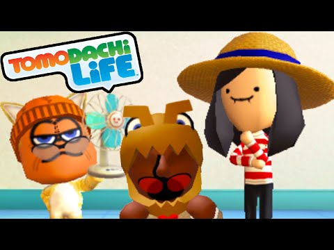 Tomodachi Life: Garfield's Bad Breakup, Mickey Mouse Musical Song Gameplay Walkthrough PART 39 3DS