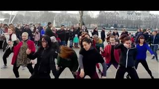 Can't Stop The Feeling Flash Mob Surprise