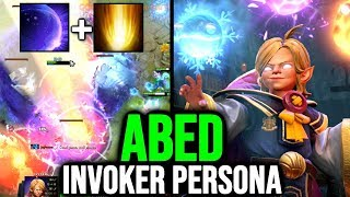 ABED 10K MMR EPIC Young Invoker Persona - Cataclysm + Chronosphere Wombo Combo Dota 2 TI9 NEW SET