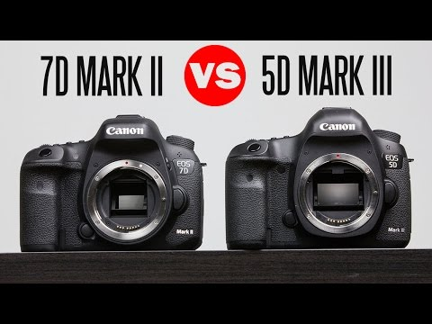 Canon 7D Mark ii Vs Canon 5D Mark iii Full In-Depth Comparison