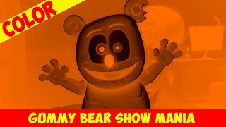 Spooktacular (Orange & Black Negative) - Gummy Bear Show MANIA