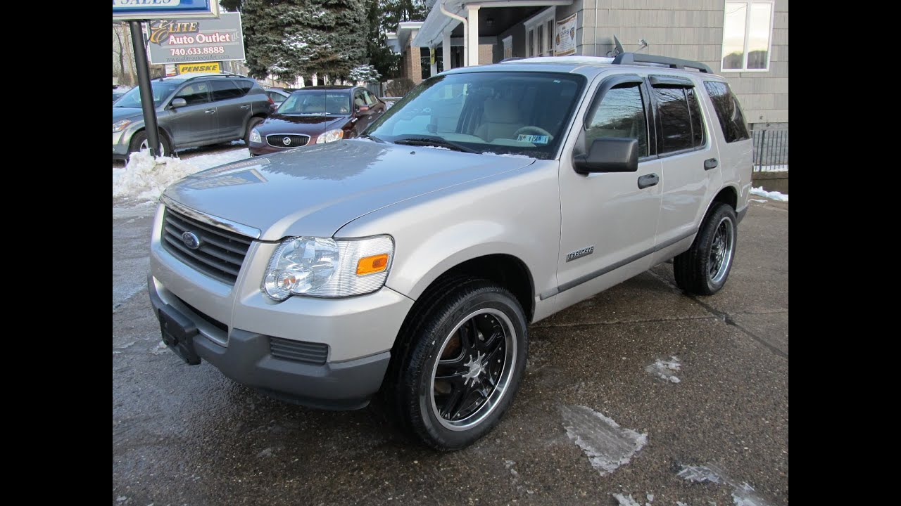 2006 ford explorer xls 4x4 elite auto outlet bridgeport ohio youtube