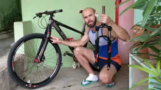 Adeus Suspensão!!! Será?!🤔Entenda pq ñ a uso + na minha Bike!