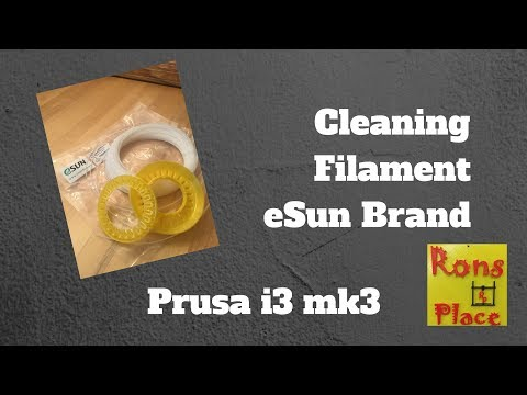Cleaning Filament - Prusa i3 mk3