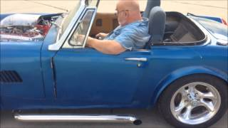 MG Midget with a 327 First Drive