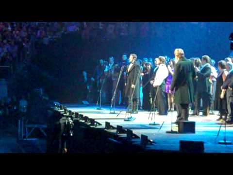Les Miserables 25th Anniversary Concert at the O2 - Bring Him Home encore