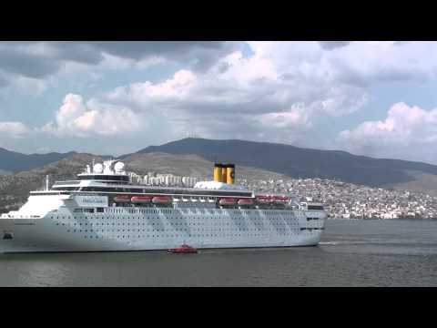 Costa Classica departing Izmir 12 May 2013