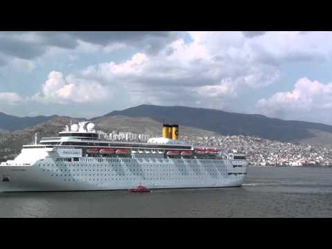 Costa Classica departing Izmir 12 May 2013