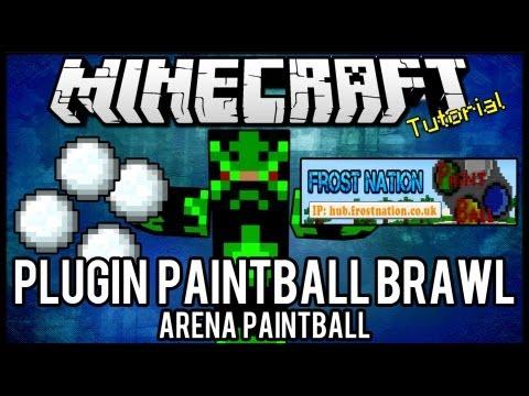 [Tutorial]Paintball Brawl - Arena Paintball Minecraft