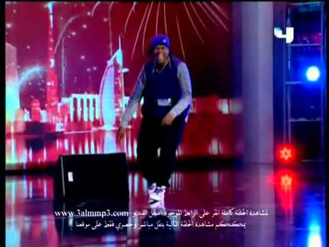 abdelmalek Arabs' Got Talent .. amazing dancer forever .