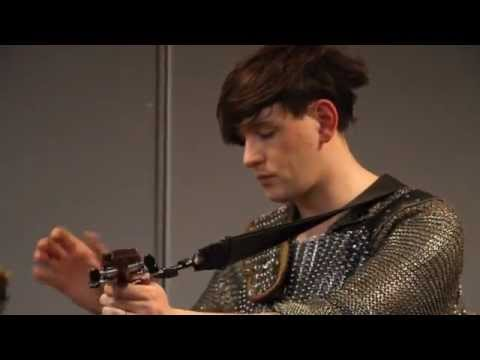 Patrick Wolf - 'Wolf Song' (Live In The NME Office)