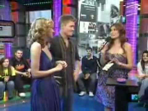 Hilarie Burton and Chad Michael Murray Interview on TRL Video