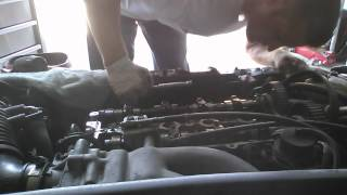 1994 Mazda Head Gasket Repair Video 2 HD