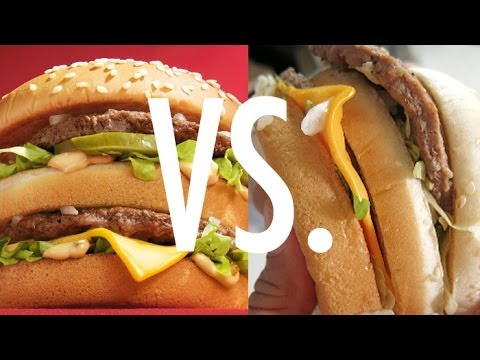 What Fast Food Really Looks Like...