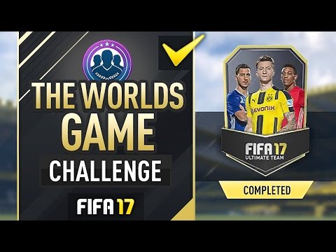 THE WORLDS GAME SBC (UNDER 10K/COMPELTED) - #FIFA17 Ultimate Team