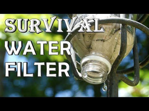 How To Make a Survival Water Filter - Quick Build