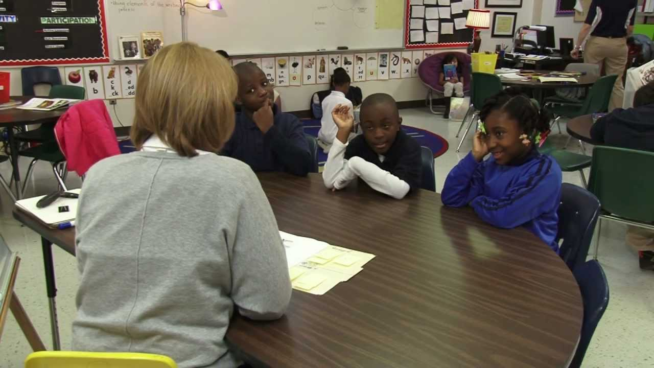 Guided Reading in a 3rd Grade Classroom - YouTube