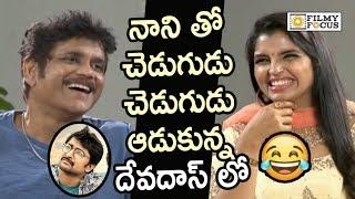 Nagarjuna and Shyamala Making Fun of Nani in Devadas Movie