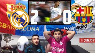 REAL MADRID DESTROYS BARÇA & ARE NOW KINGS OF SPAIN & EUROPE - *VIOLENT* HIGHLIGHTS REACTION