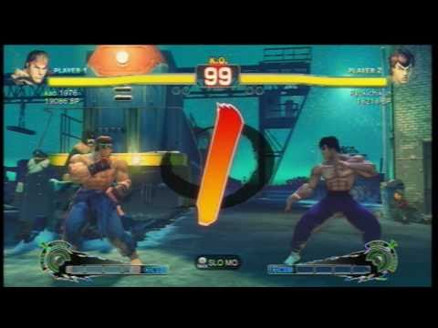 SSF4 [A vs A]: kao 1976(#13 Ryu) vs Ryukichikun(#12 Fei) Ep.85