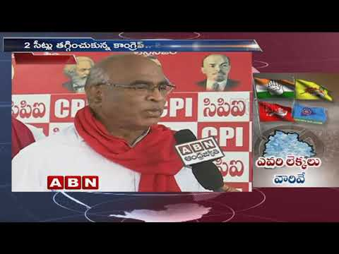Kodandaram Demands More Seats in Mahakutami | ABN Telugu