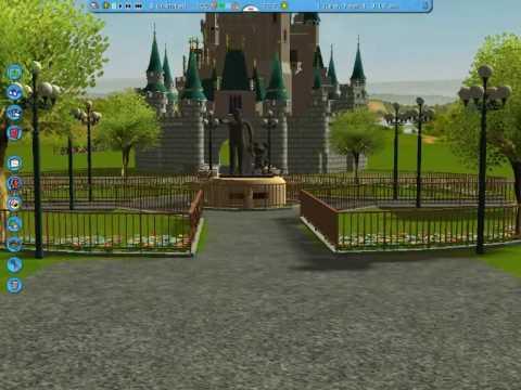 RCT3 Shanghai Disneyland - Main Street U.S.A.wmv