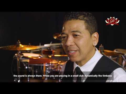 Luisito Quintero Signature Gon Bops Timbales Interview