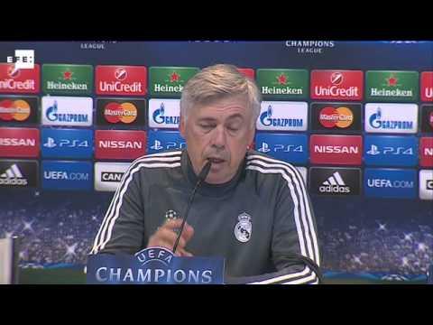 Ancelotti prevé un partido de alta intensidad contra el Ludogorets