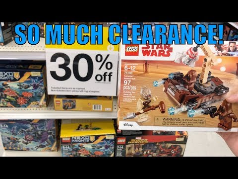 Target Has A TON OF LEGO CLEARANCE + NEW 2018 LEGO Star Wars Sets! | MandRproductions LEGO Vlog!