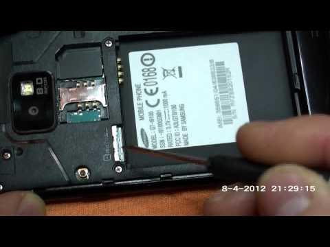 Samsung Galaxy S 2 Riparare Sostituire Vetro Rotto con ToucScreen Parte Prima.flv