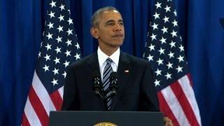 Obama gives final national security address