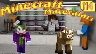 ÖRÜMCEK BEBEK VE SİNCAP İLAÇ İÇİYOR Minecraft Maceraları 114