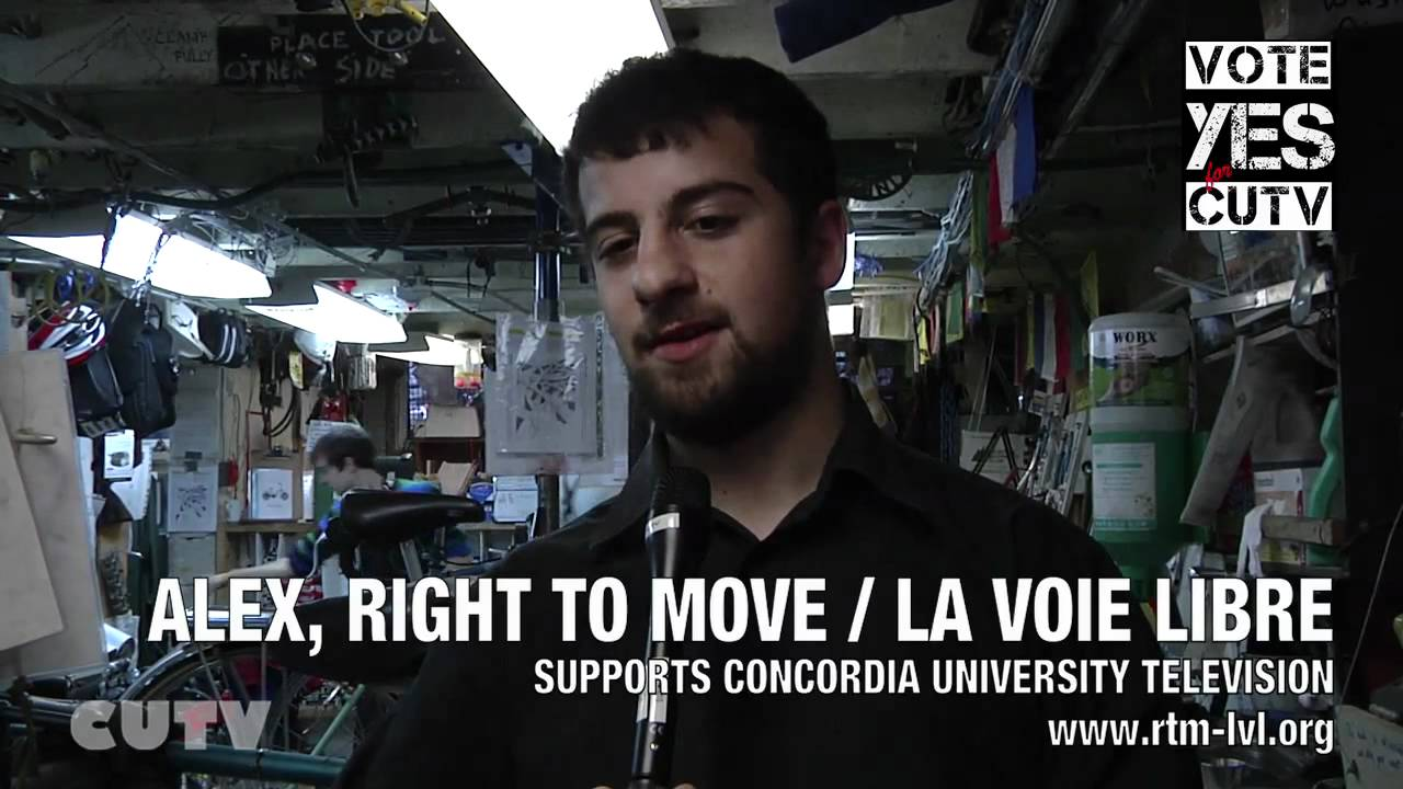 Alex Right to Move - Supports CUTV Fee Levy Campain - VOTE YES -