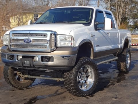 Lifted F350 King Ranch For Sale 2005 Ford F350 King Ranch 4x4