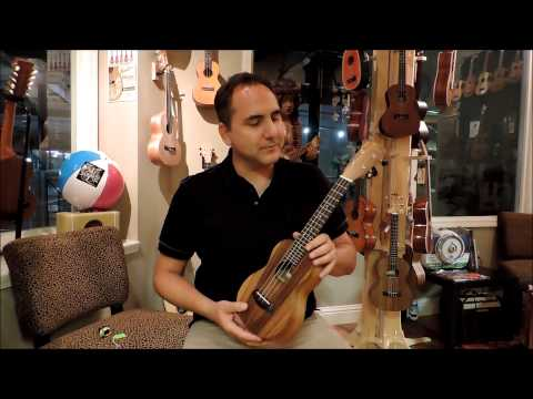 UKE Republic Demo ~ Islander AS-4 Acacia Soprano Ukulele