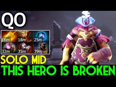 QO Dota 2 [Pangolier] NEW HERO IS BROKEN | SOLO MID BUILD 26 Kills
