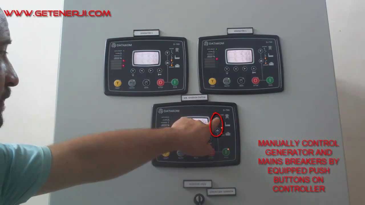 Diesel Generators Synchronizing With Mains