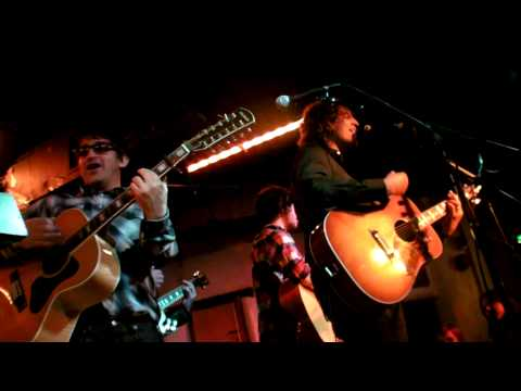Ian Broudie + James Walsh - Merry Xmas Everybody (Borderline, 13th Dec 2009)