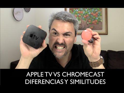 Apple TV VS Chromecast diferencias y similitudes