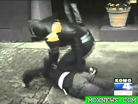 Real Life Superhero Phoenix Jones Gets Broken Nose Fighting Crime!   YouTube