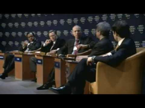 Davos Annual Meeting 2008 - Should We Fear Slowdowns? Video